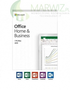Microsoft Office 2019 Home and Business WIN/MAC BOX All languages ! Promocja