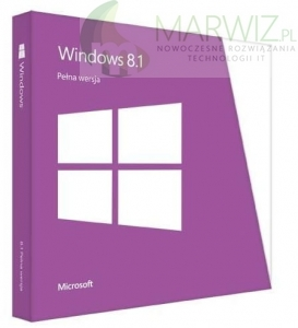 MICROSOFT Windows 8.1 32/64 bit PL DVD BOX (WN7-00934)