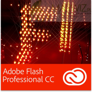 Adobe Flash Professional CC PL for Teams Multi European Languages Win/Mac - Subskrypcja (12 m-ce) (65224705BA01A12)