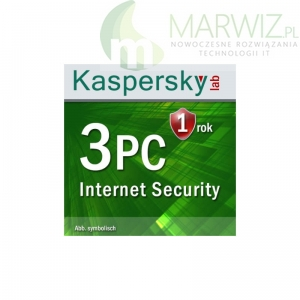 KASPERSKY INTERNET SECURITY MULTI-DEVICE 3U 1ROK  ESD  EN