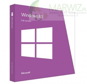 Microsoft Windows 8.1 64-bit Polish 1pk DVD OEM (WN7-00604)