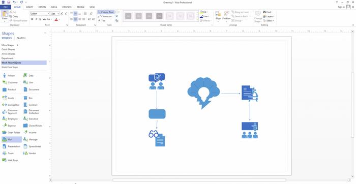 Microsoft Visio 2016 Professional ESD PL Nowy